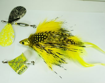 Convertible Baitcast Fly - Articulated Plastics Patterns