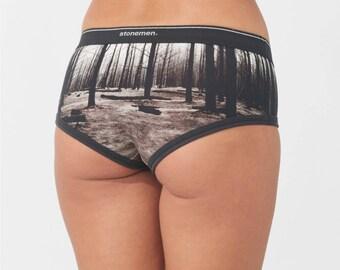 Women's Brief Forest Print Underwear