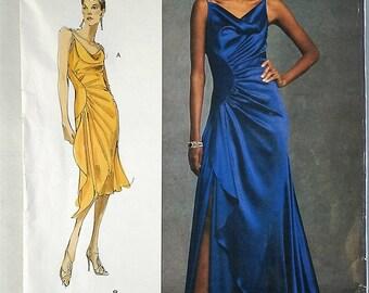 Vogue Designer Original Bellville Sassoon V 1031 Evening Gown Sewing Pattern Uncut