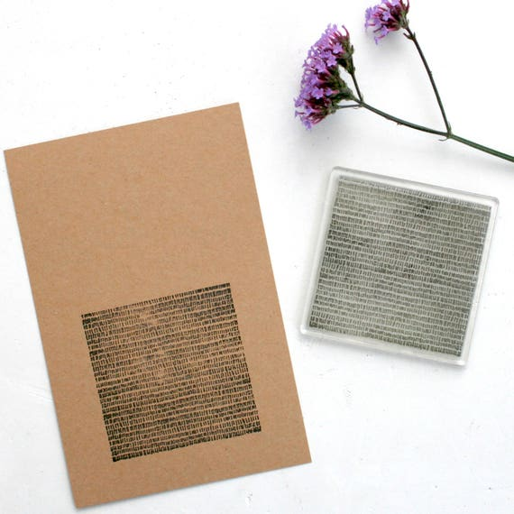 Lines Clear Rubber Stamp - Lines - Lines Background Stamp - Lines Stamp - Clear Rubber Stamp - Clear Stamp - Stamp Store