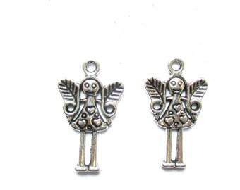 Silver fairy 2 X 32mm Tibetan