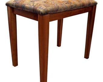 Mid Century Danish Modern PBJ Mobler Teak Vanity Stool/Bench  sc 1 st  Etsy & Mid century stool | Etsy islam-shia.org