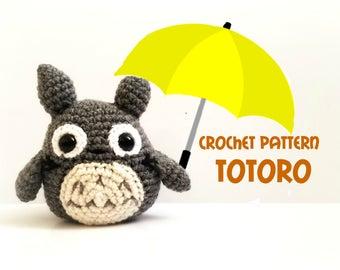 Crochet Totoro Pattern - Pattern ONLY