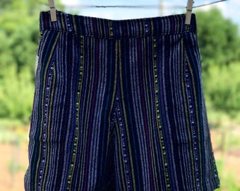 Comfy Woven Shorts: Subway