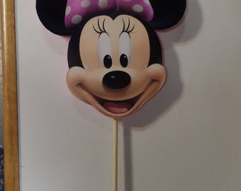 Minnie Mouse Cake Topper or Centerpiece