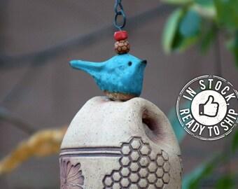 Items Most Sold Bestseller Gift Most Popular Items Wind Chime Handmade Pottery Trending Now Best Selling Item Birthday Gift For Her Gardener
