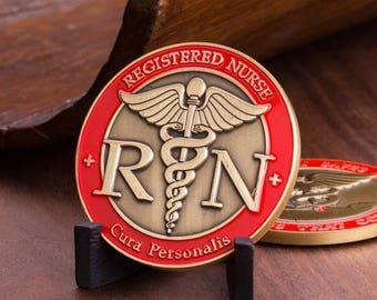 Registered Nurse Coin | RN