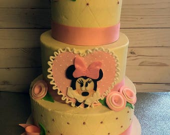 Fondant Minnie Mouse Cake Kit