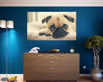 Puppy Wall Decal Etsy - Custom vinyl wall decals dogs