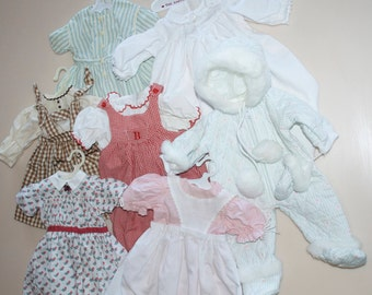 CHOOSE ONE: American Girl Pleasant Company Bitty Baby Doll Dress Clothes Clothing 1989 1994 1995 1997 Addy Kirsten