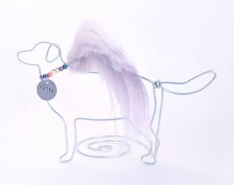Golden Retriever Pet Memorial - Golden Retriever - Golden Retriever Angel -  Pet Loss Gift - Rainbow Bridge - pet lover - Golden Memorial