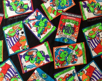 Ninja Turtle Fabric Etsy