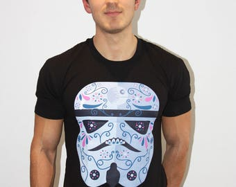 Storm Trooper Day of The Dead T-shirt