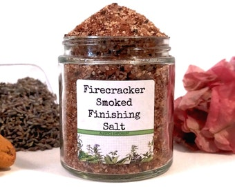 Firecracker Smoked Finishing Salt Gourmet Cooking Chef Foodie Gift