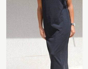 loose long dress, long dress, loose dress, evening dress, oversize dress, black dress, maxi dress, tunic dress, loose long black dress