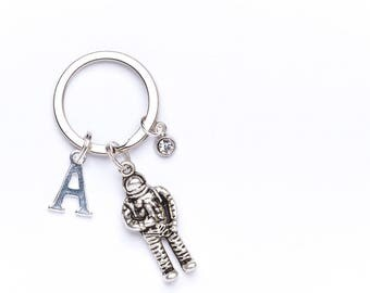 Astronaut Keyring | Personalised Astronaut Key Chain | Space Themed Gift