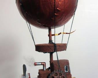 Steampunk Hunter Airship Ornament