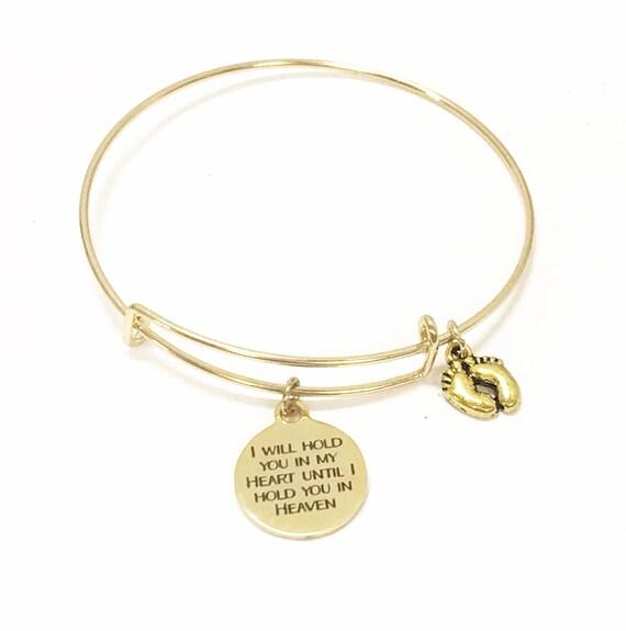 Miscarriage Memorial Bracelet, Miscarriage Sympathy Gift, Miscarriage Bracelet Memorial, Child Loss Memorial Jewelry, Stacking Bracelet