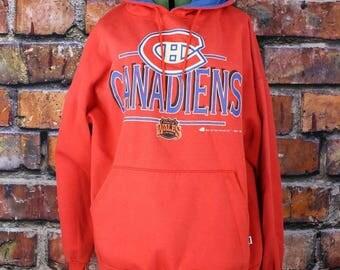 Montreal Canadiens 1992 Vintage Pullover Hoodie