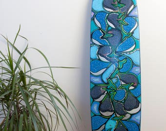 Born Free // Skateboard Art // Wall Art // Home Decor //