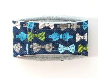 Bow Tie Male Dog Belly Band, dog diaper, belly bands by trina, dog wrap
