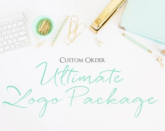 Ultimate Logo Package, Branding Package, Custom Branding, Branding Kit, Logo Design Branding, Business Card Design, Business Cards, Logos