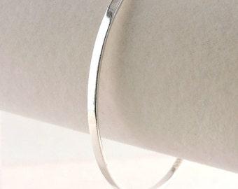 """Sterling Silver Bangle Bracelet 8"""" or 2 5/8"""""""