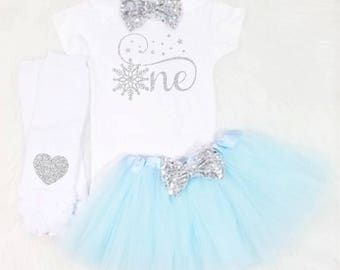 baby girl first birthday outfit winter first birthday outfit snowflake first birthday outfit winter wonderland first birthday tutu outfit