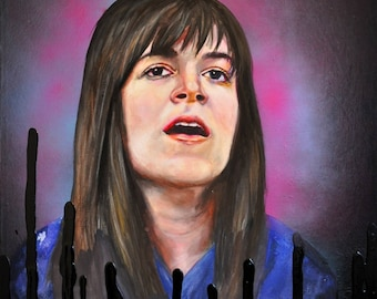 Broad City Abbi Portrait