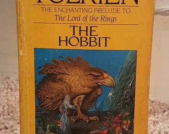 The Hobbit- Vintage- J.R.R. Tolkien- Paperback book