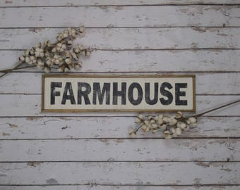 Farmhouse Sign, Farmhouse Decor, Farmhouse Kitchen, Farmhouse Signs, Wooden Sign, Custom Wood Sign, Kitchen Sign, Framed Wood Sign