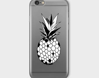 PINEAPPLE Iphone 7 Case Clear Iphone 7 Case Iphone 7 Clear Case Iphone 7 Clear Case With Design Iphone 7 Case Clear Cover Transparent D45