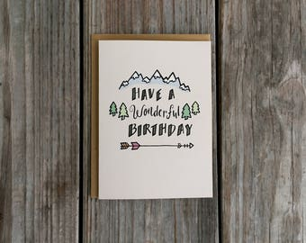 Wonderful Birthday Card for Husband Cards for Boyfriend Card for Girlfriend
