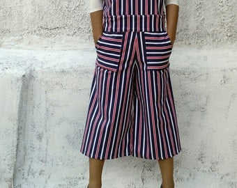 Striped jumpsuit-striped overalls-womens overalls-womens jumpsuit-jumpsuit-overalls