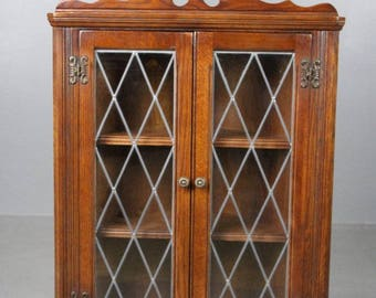 Old Charm Corner Cabinet