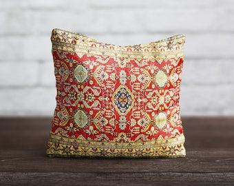 Persian Carpet Pillow Morocco PillowCase Geometric Cushion Case Persian Rug Vintage Pillow Living Room Luxury Home Decor Throw Pillow Cover