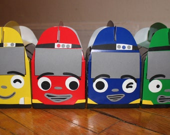 SUMMER SALE Tayo The Little Bus Treat boxes (set of 8)