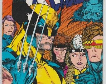X-Men #11 1992 Marvel Comic Book Wolverine Cover Jim Lee Artwork Gambit Beast Rogue Cyclops Psylocke Beaste