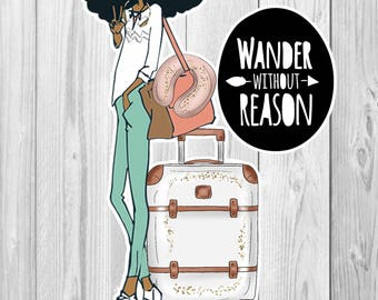 CLIPART, winter clipart, planner die cuts, travel clipart, printable die cuts, Peace out, collage