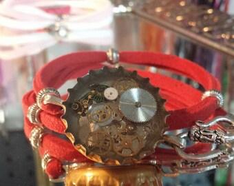 Bottle Cap Wrap Bracelet