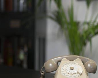 Bakelite Rotary rotary phone. Italian Design.