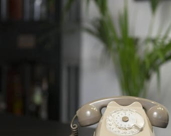 Rotary rotary phone. Italian Design.
