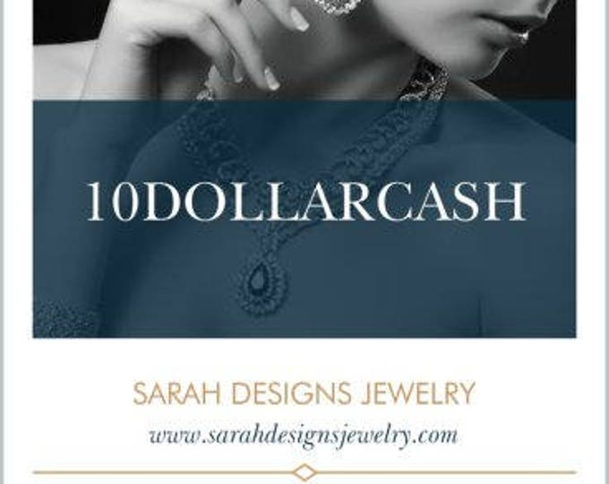 Featured listing image: Enter Code:10DOLLARCASH at checkout! 10 Dollar Cash Coupon STARTS NOW and ends on July 31st