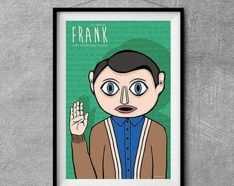 Frank Alternative Movie Poster - Original Illustration