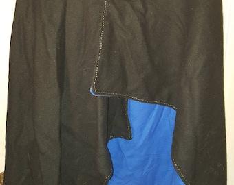 Handmade wool/silk Norse cape. SCA/LARP Renaisance costume
