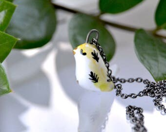 Little Bird Necklace, Valentine's Day Gift For Her, Bird Lover Gift, Cute Bird