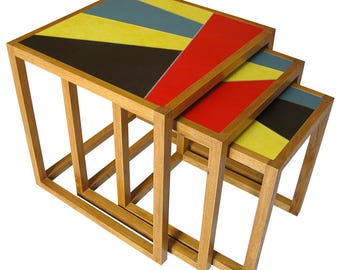 "SOLD * ""The Supremes"" nesting Tables"