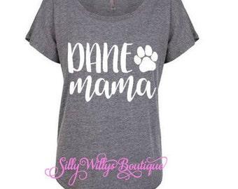 Dane Mama shirt, Dog mama shirt, dog mom shirt, fur mama shirt, Dane mom shirt, Dog mama, Fur mama, Dog mom, Great Dane mom, Dog lover gift