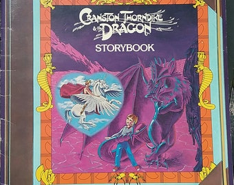 Cranston Thorndike and the Dragon storybook