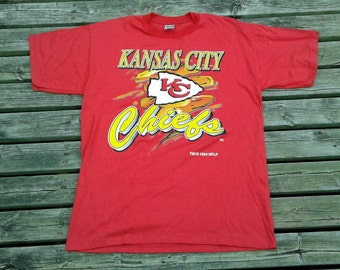 Vintage 1994 90's Kansas City Chiefs t-shirt Made in USA XL